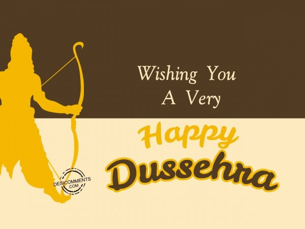 Picture: Wishing you Happy Dussehra