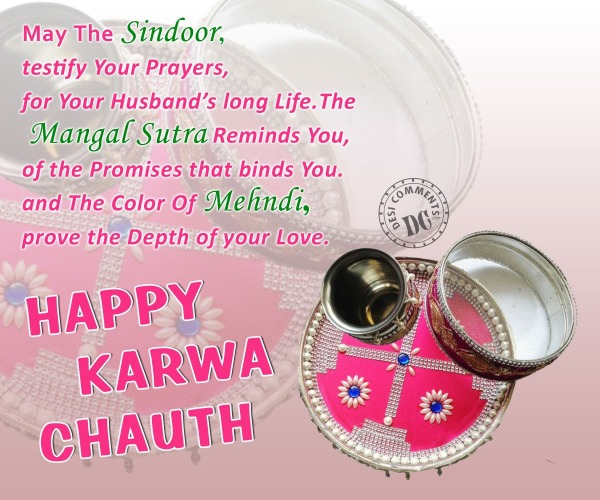 May The Sindoor - Karva Chauth
