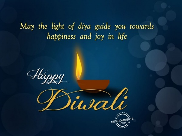 Picture: May the light of diya guide you