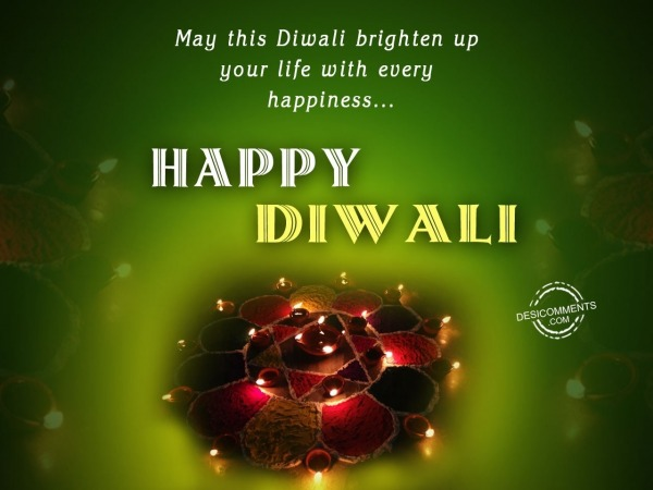 Picture: May this diwali brighten up your life