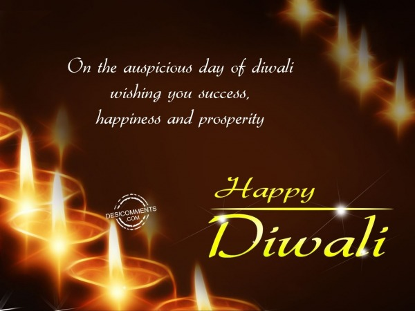 Picture: On the auspicious day of Diwali