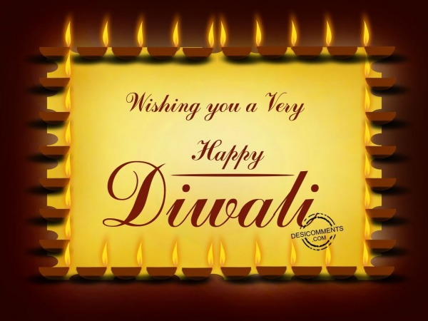 Picture: Wishing you a very happy Diwali