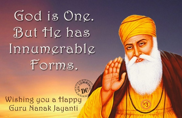 Picture: Wishing you Guru Nanak jayanti