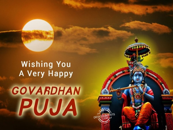Picture: Wishing you a very happy Govardhan puja