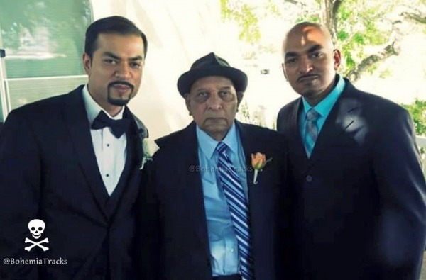 Bohemia with him father