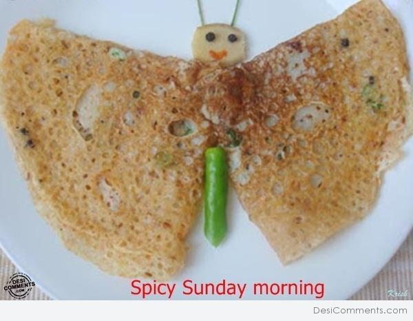 Spicy Sunday Morning