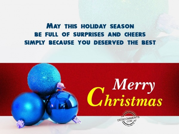 May this Christmas brings  you Happiness