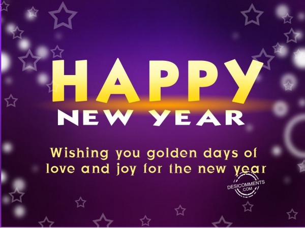 Picture: Wishing you golden days of love