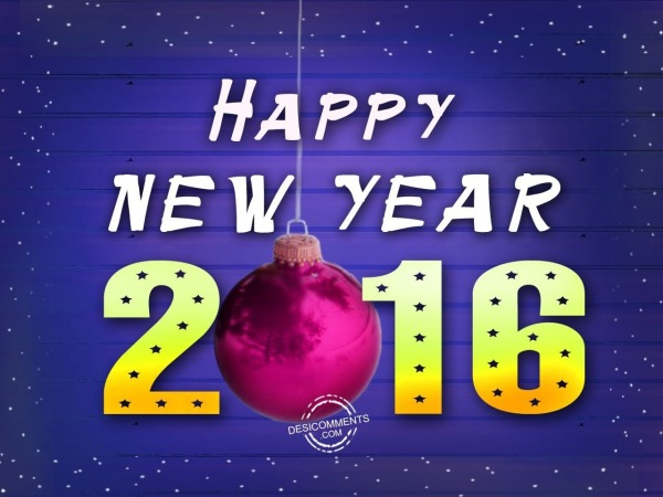 Wishing you very happy new year