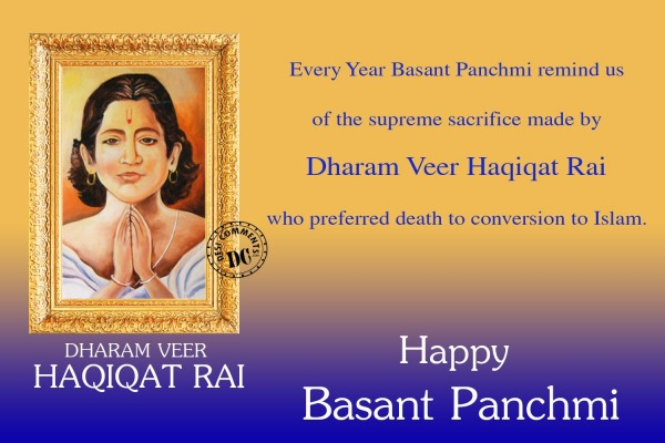 Every Year Basant Panchmi