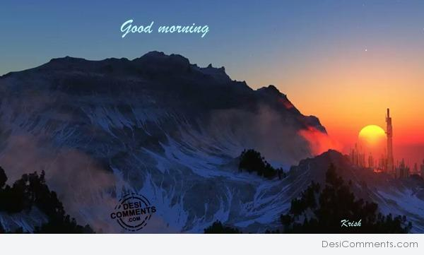 Picture: Good morning
