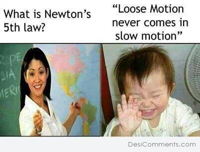 Newtons 5th law