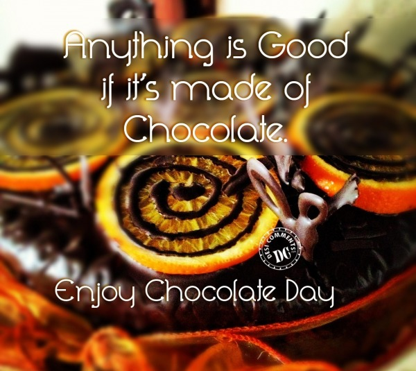 Picture: Enjoy Chocolate Day