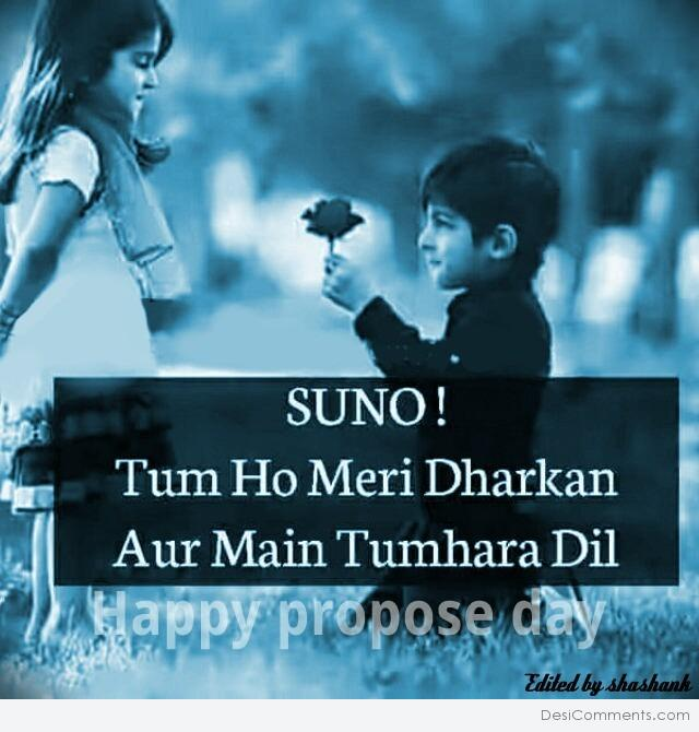 Happy Propose Day……