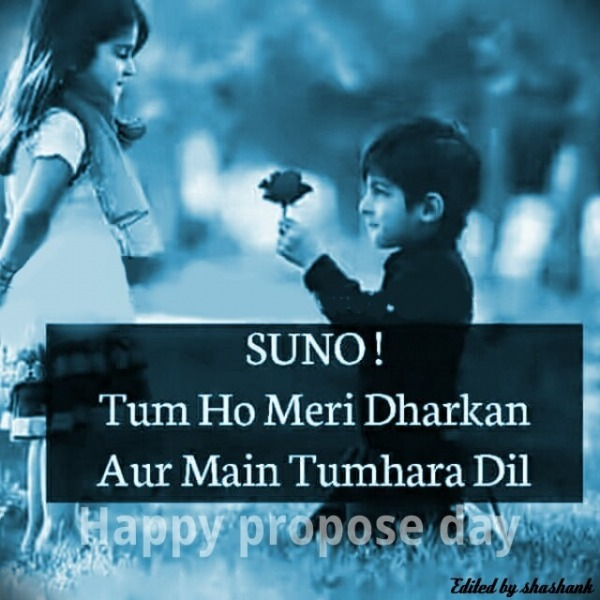Happy propose day......