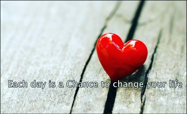 Each day is chance