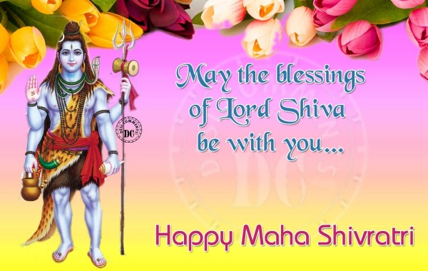 May the Blessings of Lord Shiva With You