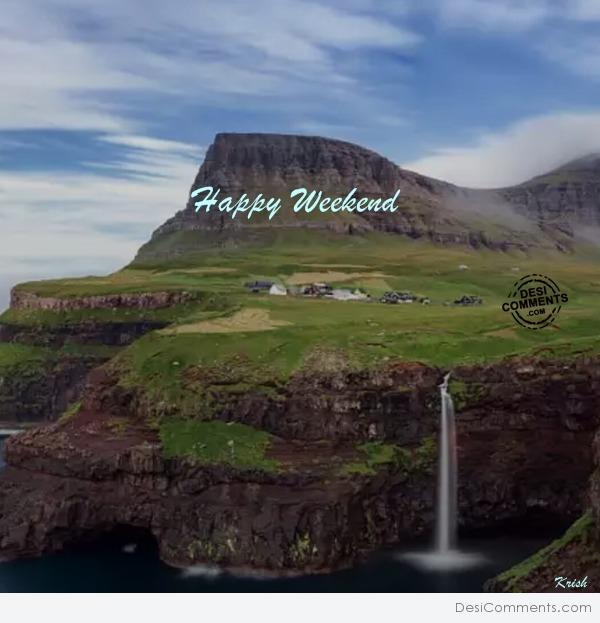 Happy Weekend With Hilly View