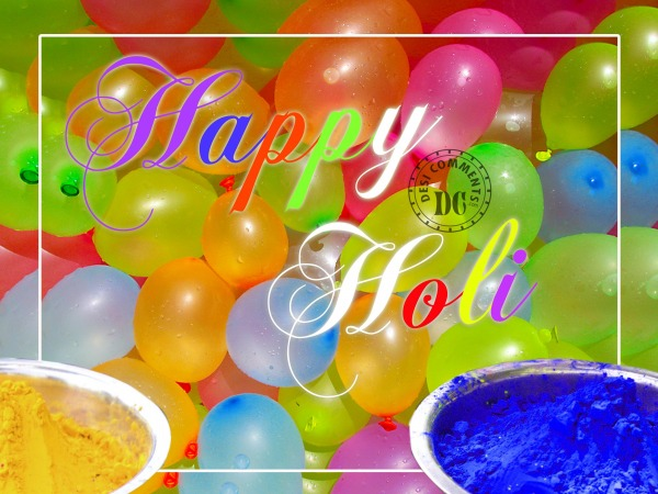 Picture: Happy Holi Wishes