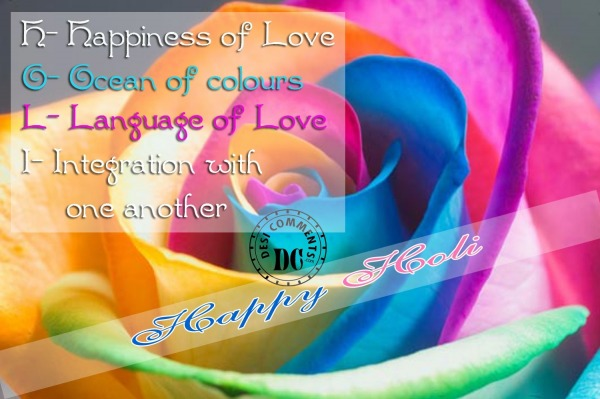 Meaning of Holi - Happy Holi