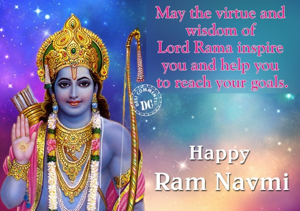 May the virtue of Lord Rama Inspire You