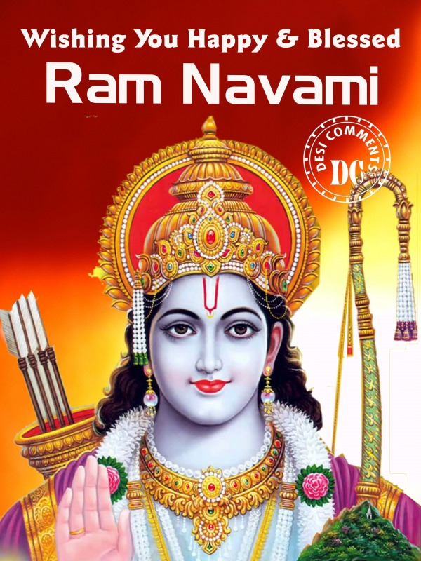 Picture: Happy And Blessed Ram Navami