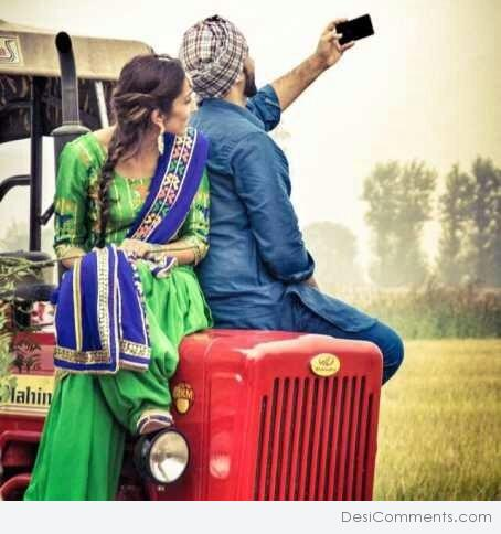 Punjabi Couple - DesiComments.com