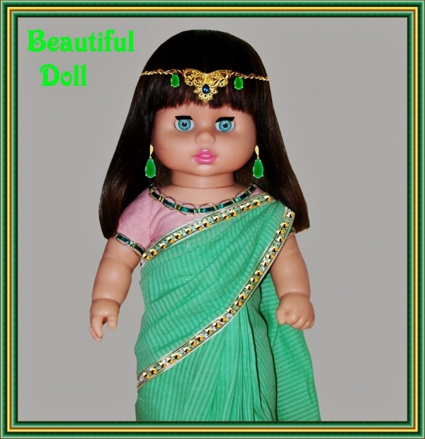 Doll In Saree