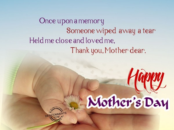 Picture: Once upon a memory – Happy Mother's Day