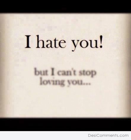 Picture: I Hate You