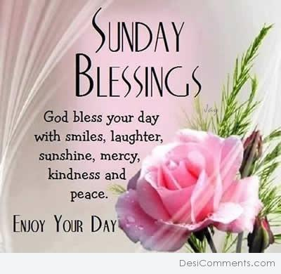 Picture: Sunday Blessings