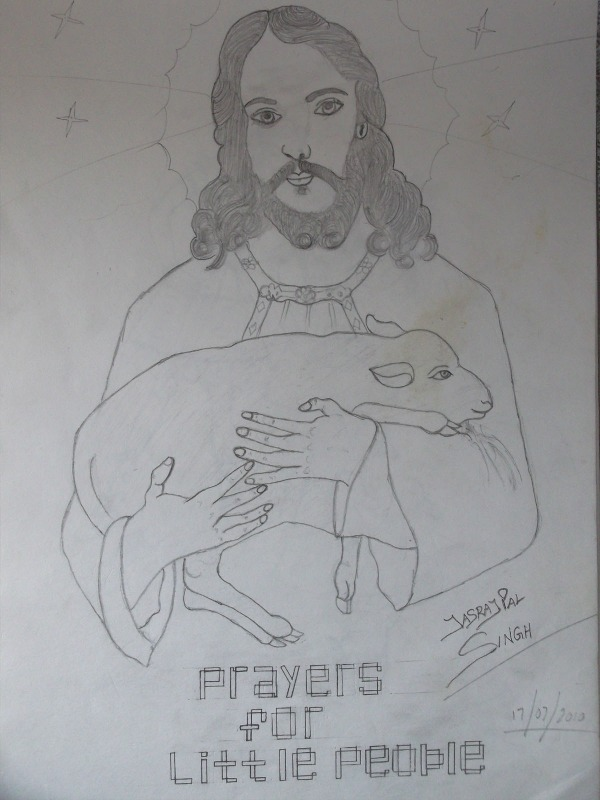 Pencil Sketch Of Jesus