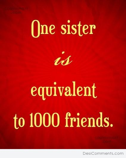 One Sister