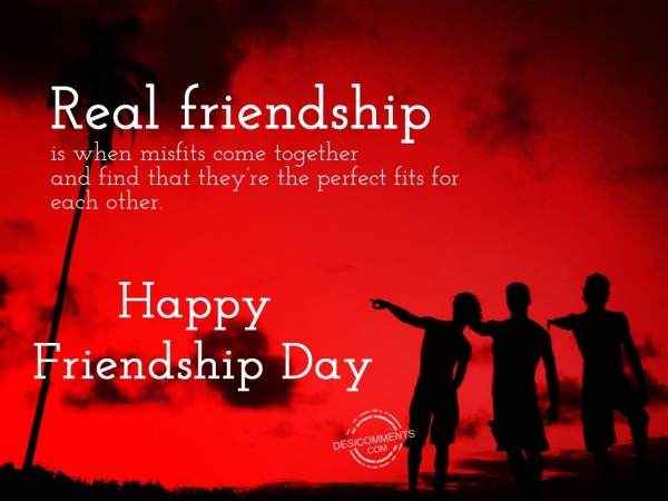 Friends are perfect,Happy Frienship Day