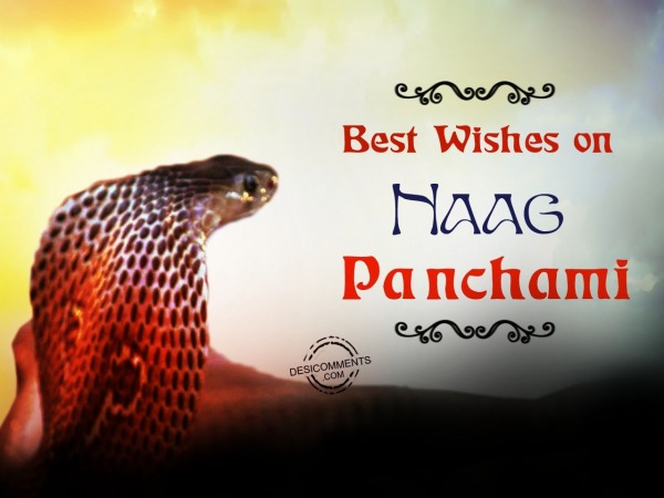 Best wishes on Naag Panchami