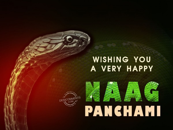 Wishing You a very happy naag panchami
