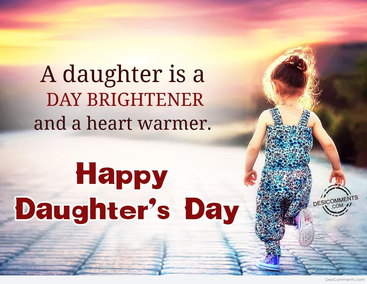 Daughter's Day Pictures, Images, Graphics for Facebook ...