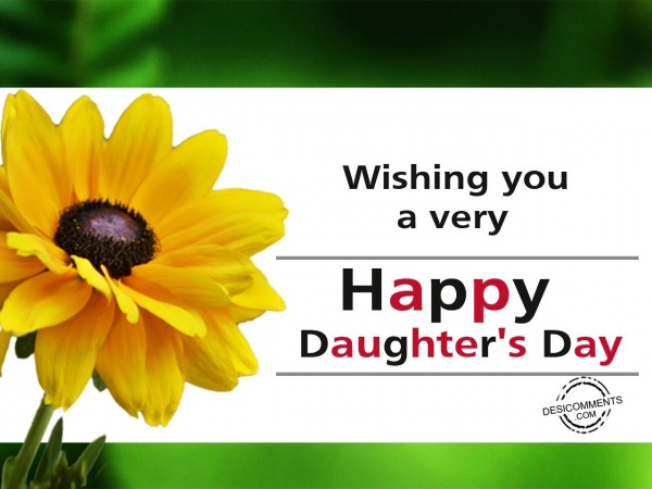Picture: Wishing you a very Happy Daughter's Day