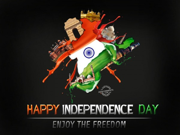 Happy Independence Day,Enjoy the freedom