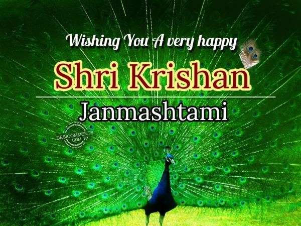 Picture: Wishing you a very happy ShriKrishan Janmashtami