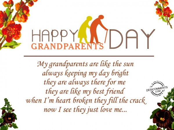 Picture: My grandparents are like the sun