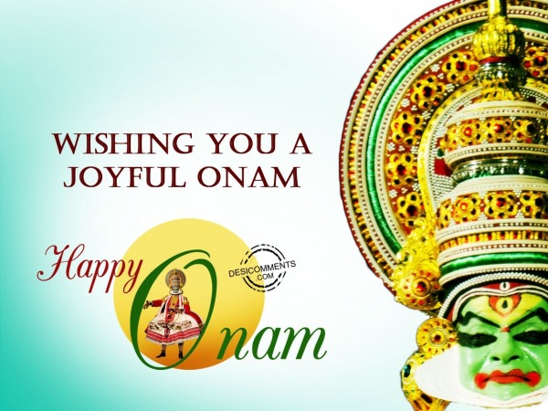 Picture: Wishing you a joyful Onam
