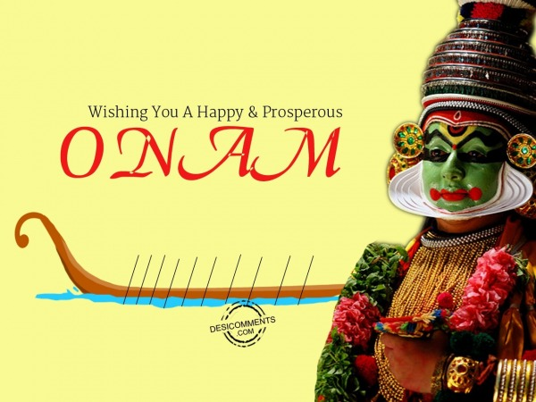 Picture: Wishing You A Happy Onam