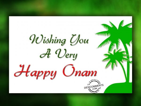 Picture: Wishing You A Very Happy Onam – Image