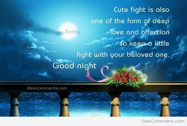 Cute Fight - Good Night