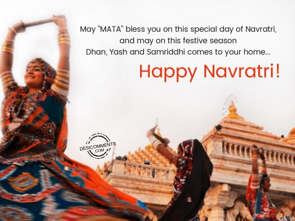 Picture: May Mata Bless You On This Special Day Of Navratri