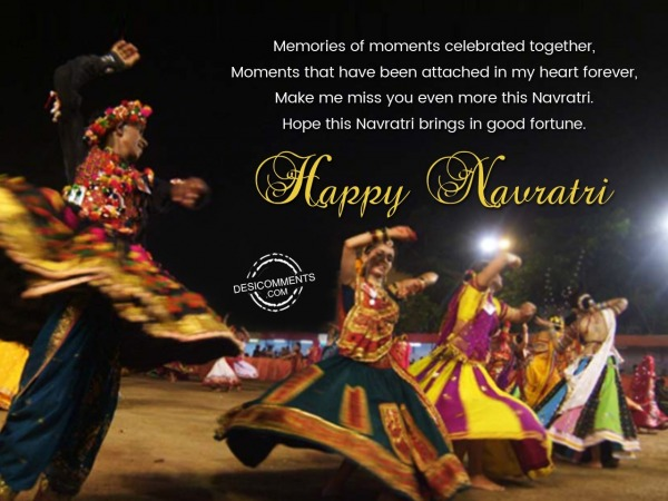 Picture: Navratri Brings In Good Fortune