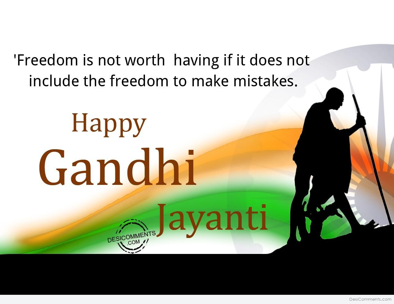 Gandhi Jayanti Pictures Images Graphics Page 2