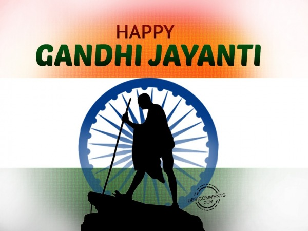 Picture: Happy Gandhi Jayanti