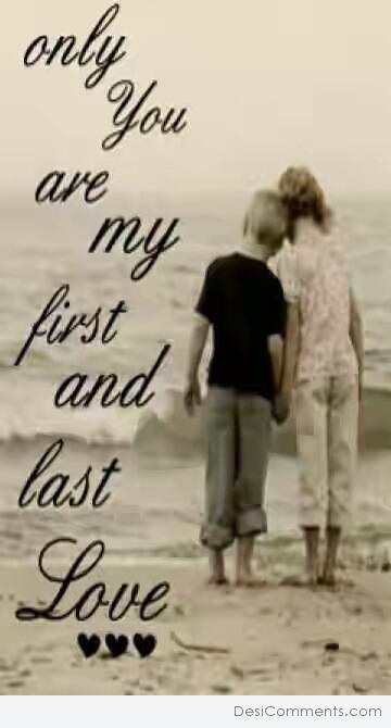 Picture: Only You Are My First